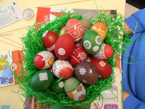Výzdoba velikonočních kraslic