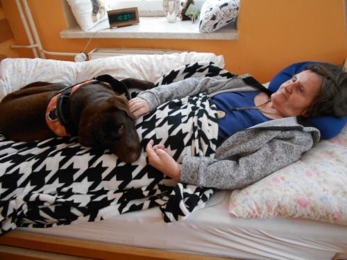 Canisterapie v Domově pro seniory Šternberk