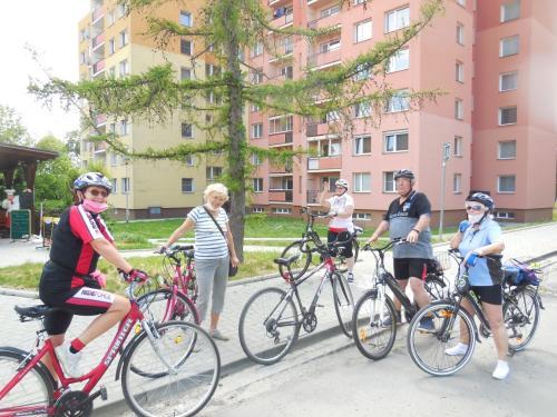 Výlet na kolech po skončení nouzového stavu.