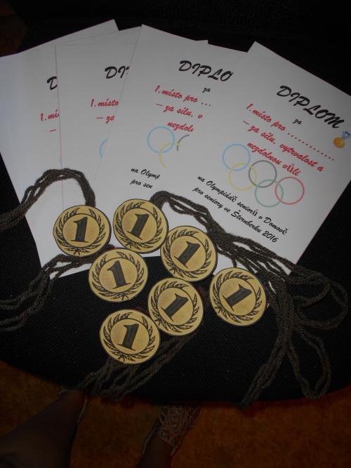 Olympiáda  9. 9. 2016